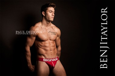 Your Hunk of the Day: Benji Taylor