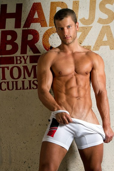 Your Hunk of the Day: Harijs Broza