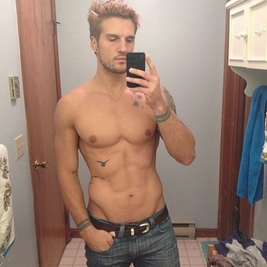 Your Hunk of the Day: Parker Hurley
