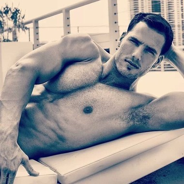 Your Hunk of the Day: Rocky Buttery